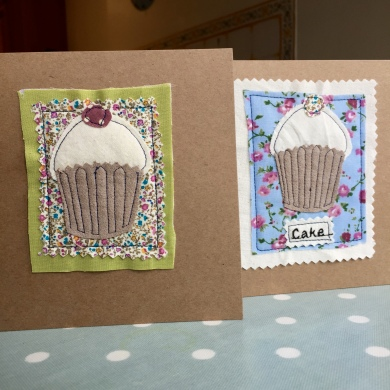 Cupcakes Cards Recycled
