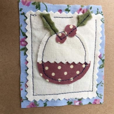 Handmade Cards Recycled Christmas Puds