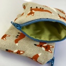 Coin Purse Handmade Mr Fox