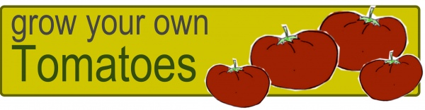 Grow your Own Tomatoes Header