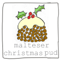 How to Make a Malteser Christmas Pudding