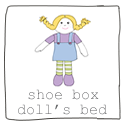 How to make a shoe box doll's bed