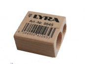Lyra Twin Hole Pencil Sharpener