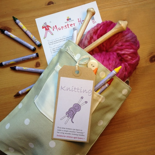 Knitting Kits For Beginners Uk : Knitting kit using handmade locally sourced materials