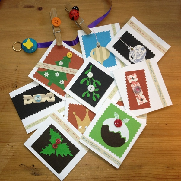 Christmas Cards Handmade Recycled - Ethical Kidz