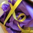 Purple Eco Tissue Paper Ribbon