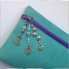 Handmade Pencilcase with charms