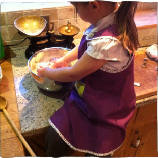 Handmade Reversible Apron with pocket