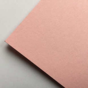 Baby Pink Recycled Card