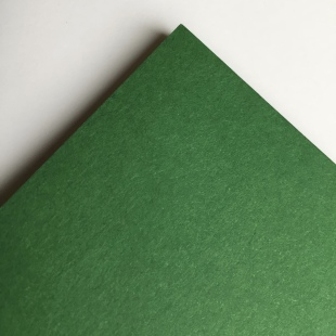 Dark Green Recycled Card