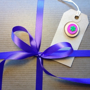 Eco Ribbon Purple