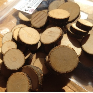 Wood Flakes for Crafts