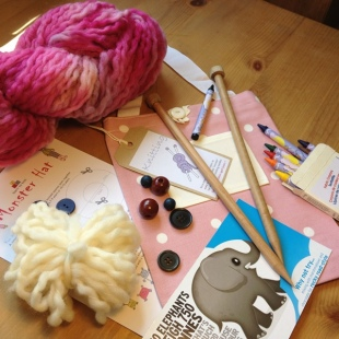Knitting Kit with everything