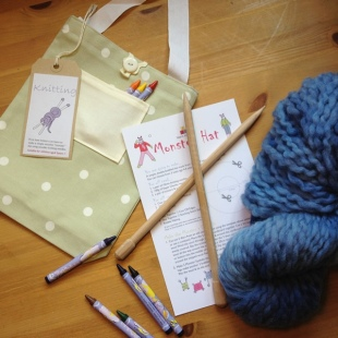 Locally Sourced Knitting Kits