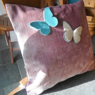 Butterfly Cushions Handmade