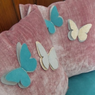 Butterfly Cushions Handmade 1