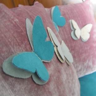 Butterfly Cushions Handmade 6