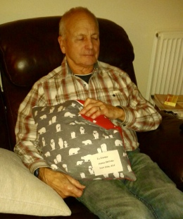 Grampy with Cushion
