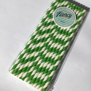 Eco Green Strip Straws