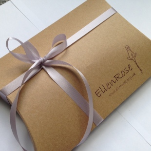 Ellen Rose Pillow Gift Box