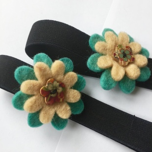 Fairtrade Flower Hairband