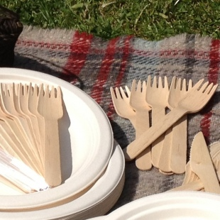 Wooden Fork for party
