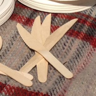 Wooden Knife for Parties