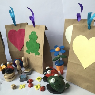 Party Bag Recycled with Fillers