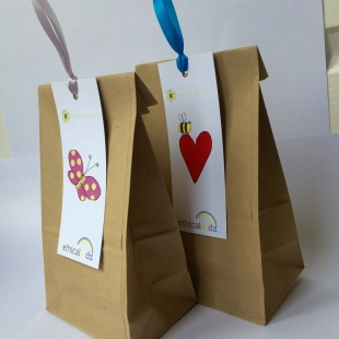 Party Bags with eco ribbon