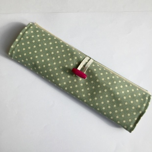 Pencil Case Handmade Wrap-around