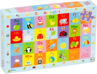 Alphabet Jigsaw Puzzle Recycled