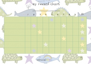 Reward Chart for Boys