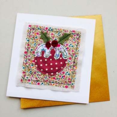 Christmas Cards Pudding