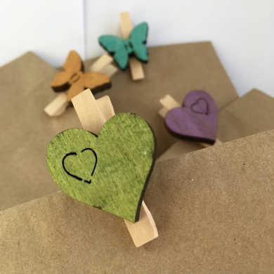 Party Bag Eco Wooden Peg