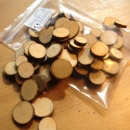 Wood Flakes for Kids Crafts