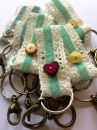 Lace Keyrings Handmade