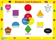 Shapes and Colours Placemat