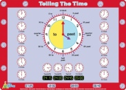 Telling the Time Placemat