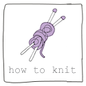 How to knit booklet