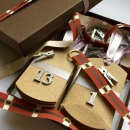 Advent Santa's Belt Ribbon