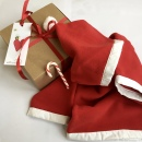 Santa Fleece in gift box