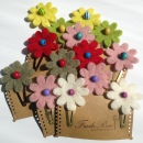Hair Grips Fairtrade FLOWER