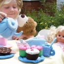 Oskar and Ellen Soft Tea Set Cupcakes 2 custom