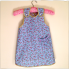 Reversible Apron Blue Rose