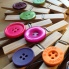 Bamboo Recycled Button Pegs