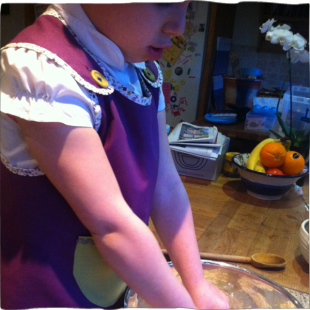 Handmade Reversible Apron front