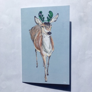 Deer Card Tartan Full
