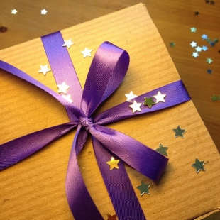 Eco Ribbon and Gift Box