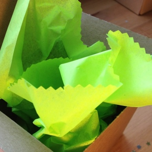 Eco Tissue Paper Lime