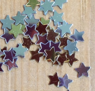 Recycled Stars for crafts